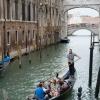 Gondolázás a Canal Grandén