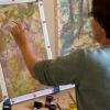 Tornay Krisztina szenvedélye a selyem festés