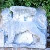 a velencei oroszlán  a trsati várkastély udvarán