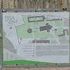 A Dóm-téren a három építmény elhelyezkedése