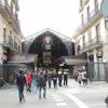 Mercat: Állítólag aki Barcelonába látogat, nem hagyhatja ki a piacot. Hát tessék néhány pillanatkép. Különben nagyon látványosak a standok.