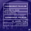 Január - FolKlub, Maszkabál