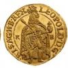 egy Lipót-kori aranypénz