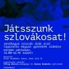 Játsszunk szlovákosat!
