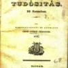Obr. 1-3 Barón Vince Berzeviczy, titulná strana periodika Nemzeti Játékszini Tudósítás, gróf Tivadar Csáky