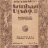 Fotó 16-19. A (Kassai) Szinházi Ujság hetilap borítói