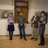 Libor Cabák kiállításának megnyitása