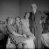 Jászi Oszkár Kassán a Stúrova 7. alatti lakásunkban Nagyszüleimmel és édesanyámmal