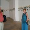 Fotókiállítás megnyitó a kastély egykori szalonjában