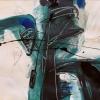 Gesztus – akryl, papir, 50x70 cm