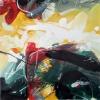 Optimizmus – akryl, vászon, 80x80 cm