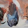 Ősidők idézete – akryl, vászon, 60x80 cm