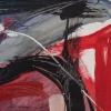 Rendeződés 1. – akryl, farost 30x30 cm