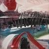 Rendeződés 3. – akryl, farost 30x30 cm