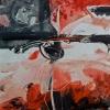 Siró madár – akryl, vászon, 80x80 cm
