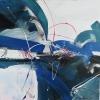 Vandorló érzelmek 11. – akryl, vászon, 80x80 cm