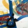 Vandorló érzelmek 12. – akryl, vászon, 80x80 cm