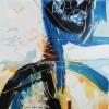 Vandorló érzelmek 16. – akryl, vászon, 80x80 cm