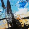Bécsi Gesztus 2 – akryl, vaszon, 60x80 cm