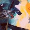 Bécsi Gesztus 3 – akryl, vaszon, 60x80 cm