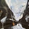 Csók – akryl, vászon, 60x80 cm